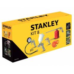 Kit Pistolas 8pcs STANLEY