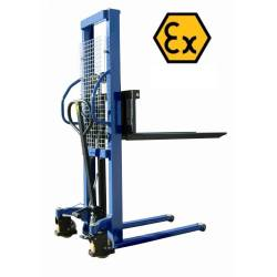 Apilador ATEX manual 1.000 Kg a 1.600 mm