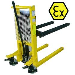 Apilador ATEX manual 500 Kg a 1.000 mm