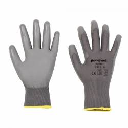Guantes PU 1st Grey. Pack 10 pares.